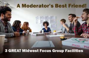 You can't go wrong with these 3 great focus group facilities.